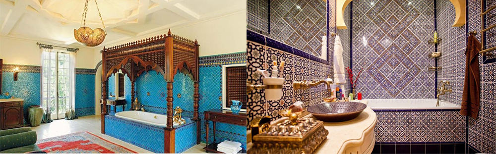 Moroccan-bathroom-2020-bathroom-trends-bathroom-ideas-2020-Moroccan bathroom: 2020 bathroom trends