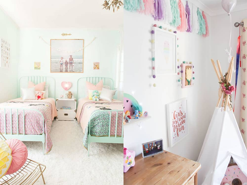 Pastel-Girls-bedroom-2019-girls-room-design-girls-bedroom-decor-Girls bedroom 2019