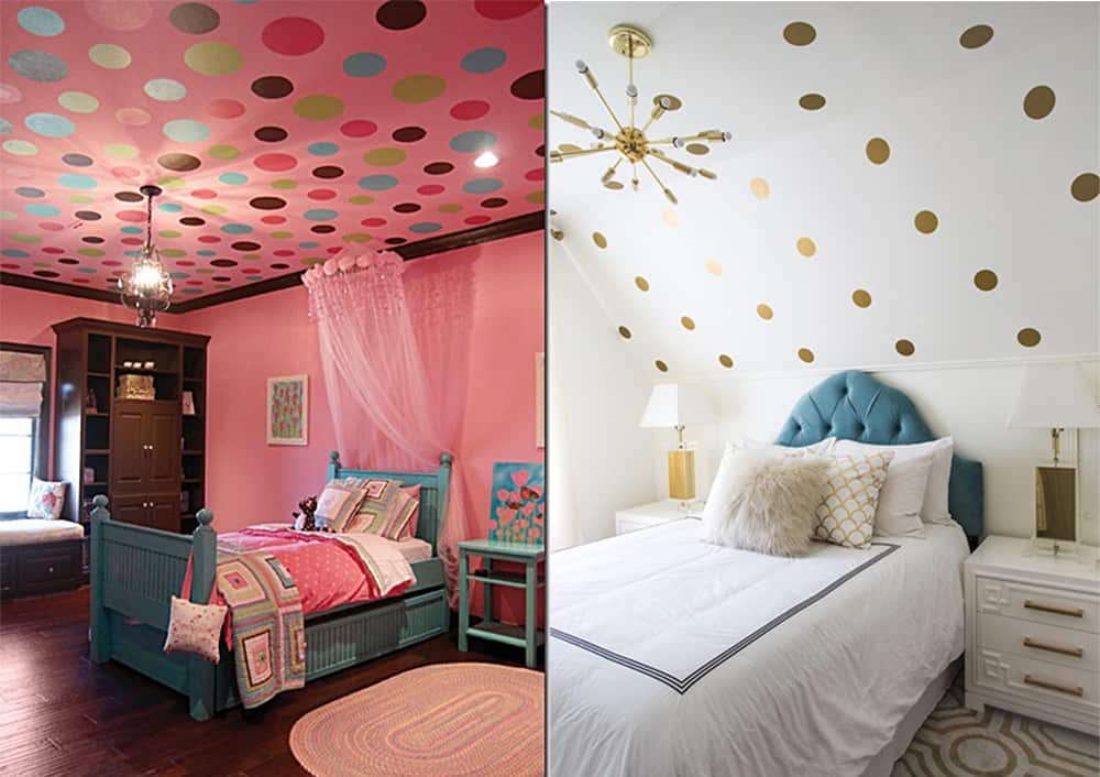 Polka-dot-for-Teen-room-2018-teen-bedroom-ideas-teen-room-design-teen bedroom ideas