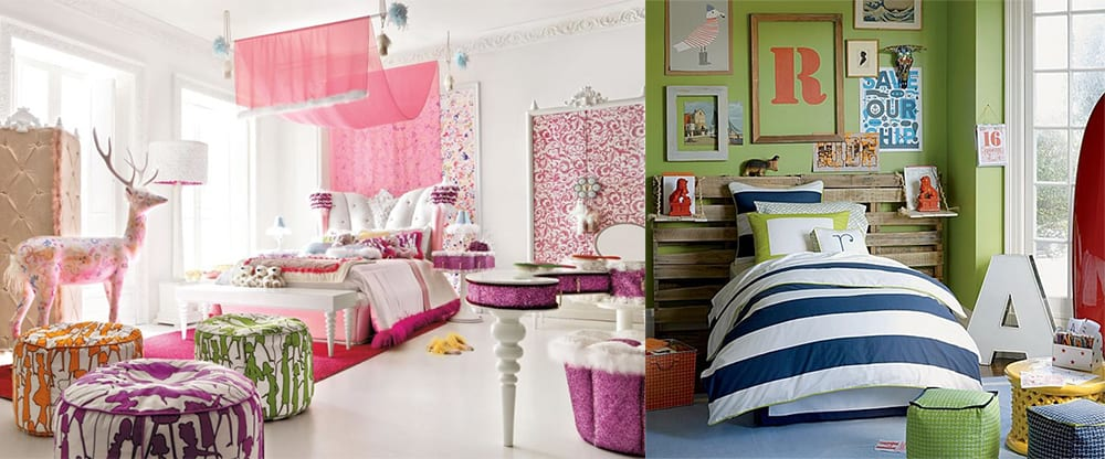 Poufs-Teen-room-2018-teen-bedroom-ideas-teen-room-design-Teen room design
