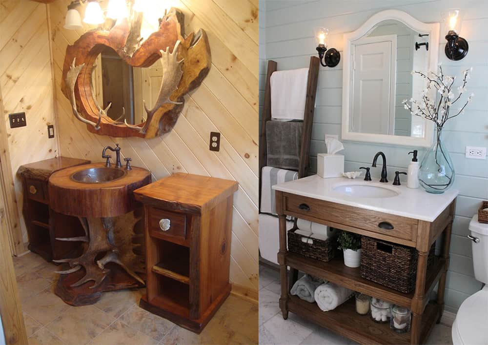 Rustic-bathroom-decor-contemporary-bathroom-design-bathroom-design-ideas-Rustic bathroom decor