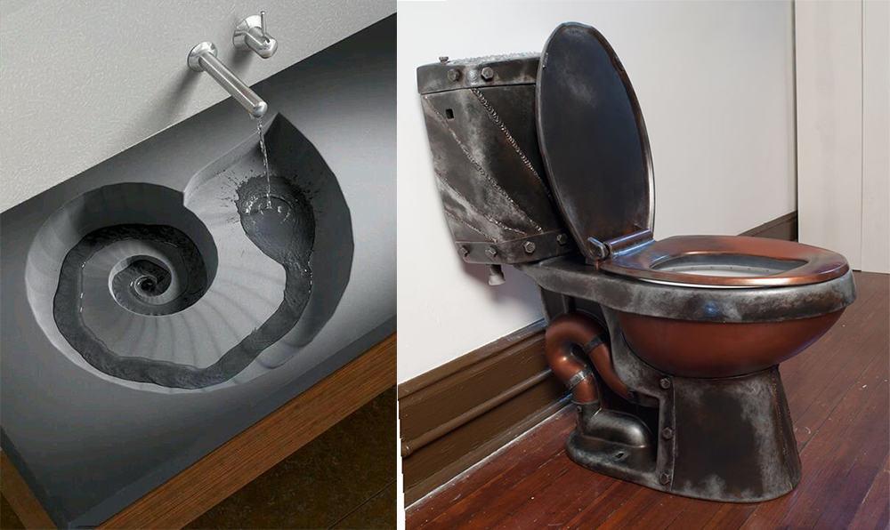 Bathroom Designs 2018 Steampunk Decor Ideas