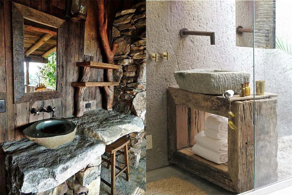 Shelves-Rustic-bathroom-decor-contemporary-bathroom-design-bathroom-design-ideas-bathroom design ideas