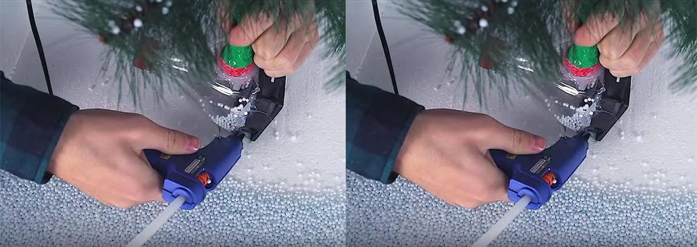 Snowing-tree-2-Christmas-decorations-2020-DIY-Xmas-decorations-Christmas-design-ideas-DIY Xmas decorations