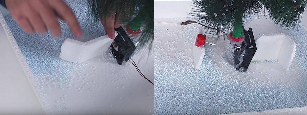 Snowing-tree-3-Christmas-decorations-2020-DIY-Xmas-decorations-Christmas-design-ideas-DIY Xmas decorations