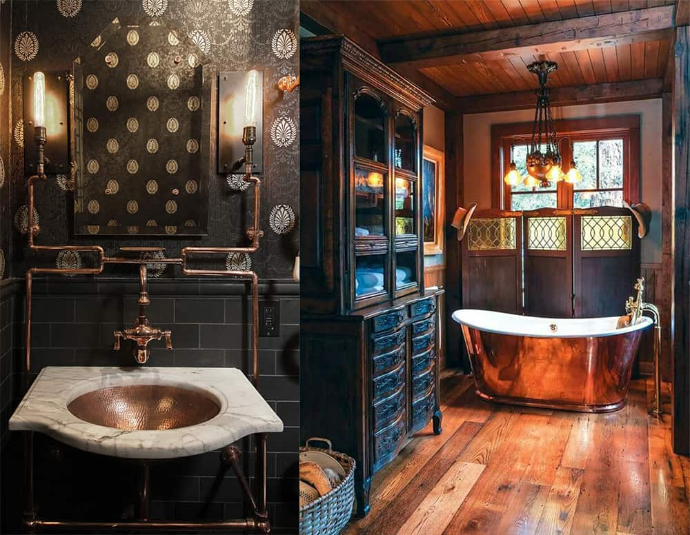 Steampunk-bathroom-bathroom-designs-2020-bathroom-decor-ideas-Bathroom designs 2020