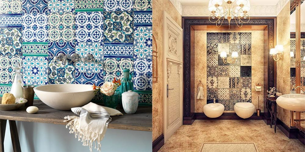 Tiles-Moroccan-bathroom-2018-bathroom-trends-bathroom-ideas-2018-Moroccan bathroom Decor