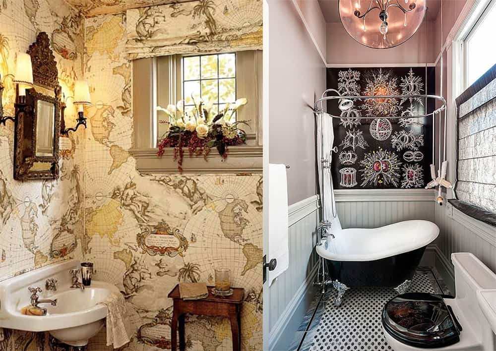 Victorian-Steampunk-bathroom-bathroom-designs-2020-bathroom-decor-ideas-Bathroom decor ideas