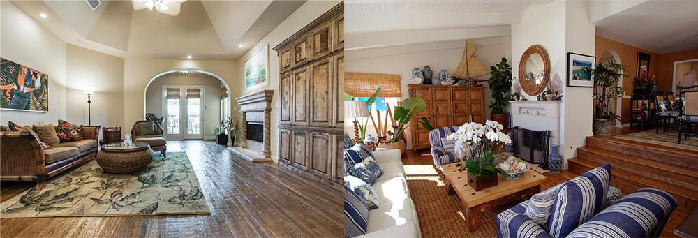 Warm-shades-Tropical-living-room-tropical-home-decor-interior-design-2020-Interior design 2020