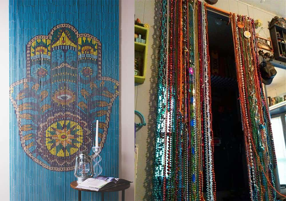 Beaded-curtains-Indian-kitchen-design-modern-kitchen-decor-indian-kitchen-ideas-Indian kitchen ideas