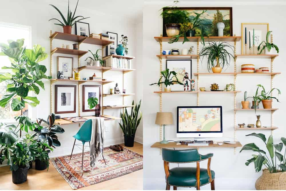 Home office ideas: Eco office interior design furniture and accessories