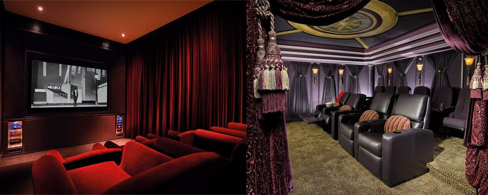 Fabrics-Home-theater-design-theater-room-ideas-theater-room-decor-Home theater design