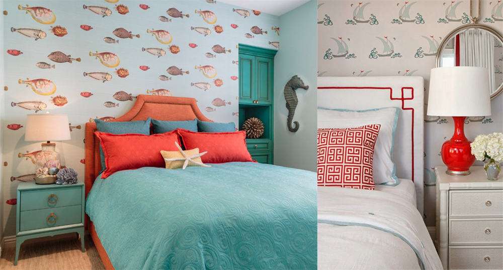 Fishes-Nautical-bedroom-bedroom-decorating-ideas-modern-bedroom-design-Bedroom decorating ideas