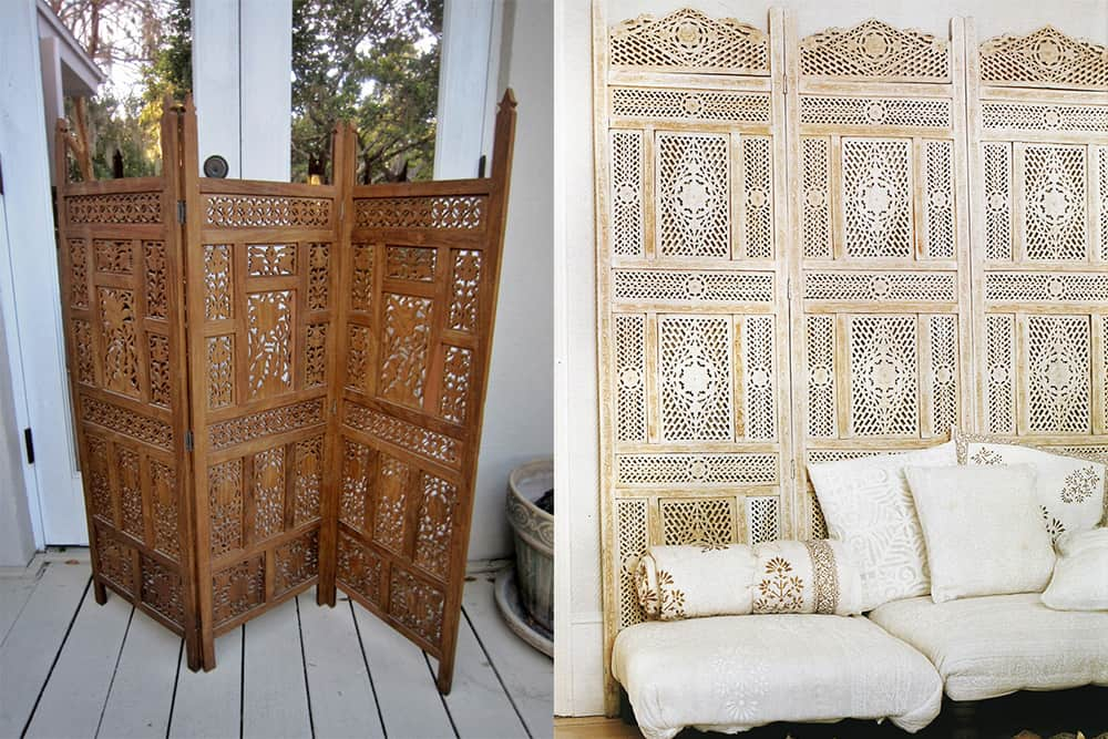 Folding-screens-Indian-interior-design-indian-home-decor-interior-design-ideas-Indian home decor