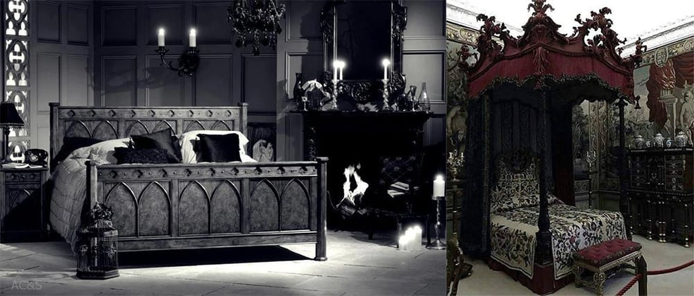 Gothic-Black-bedroom-ideas-bedroom-interior-design-bedroom-decorating-tips-bedroom interior design