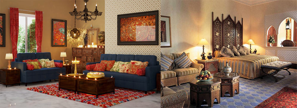 Indian interior design: Tips and photos of Indian home decor