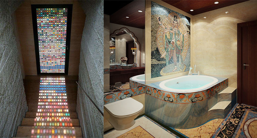 Mosaics-Indian-interior-design-indian-home-decor-interior-design-ideas-Indian home decor