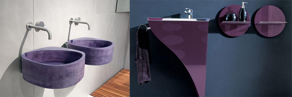 Purple-sanitary-equipment-Purple-bathroom-ideas-purple-bathroom-decor-contemporary-bathroom-design-purple bathroom decor-Contemporary bathroom design