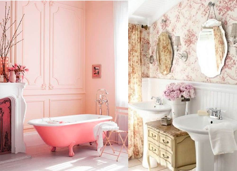 bathroom decor ideas dreamy shabby chic bathroom for your home. Black Bedroom Furniture Sets. Home Design Ideas