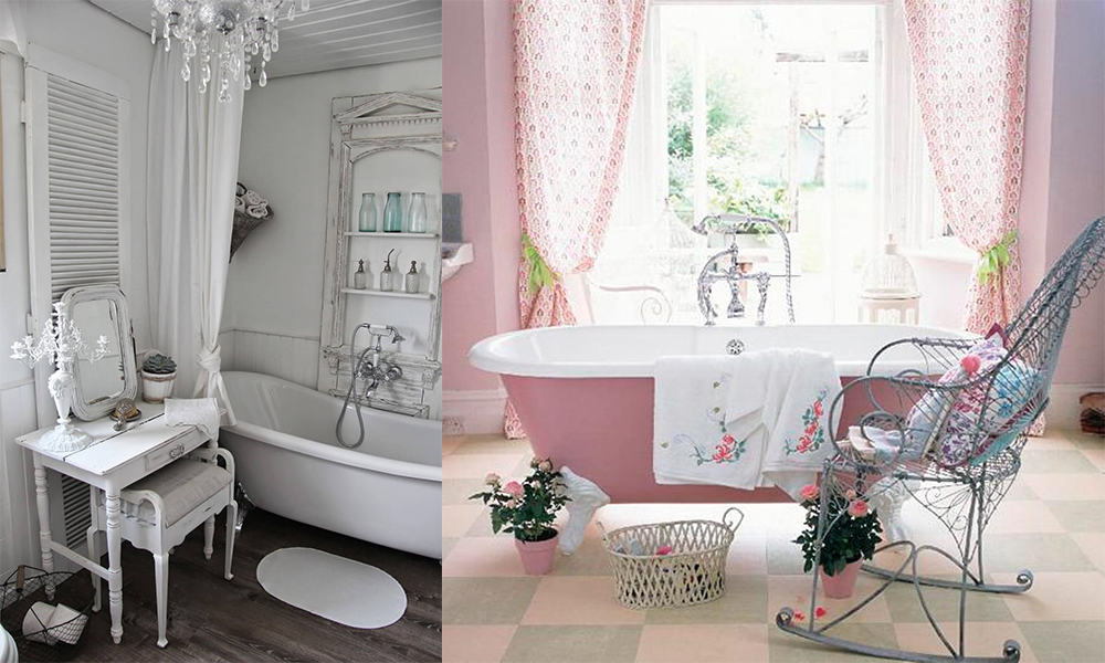 Dreamy Shabby Chic Bathroom