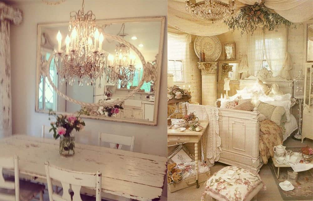 Interior Decorating Ideas Shabby Chic Design