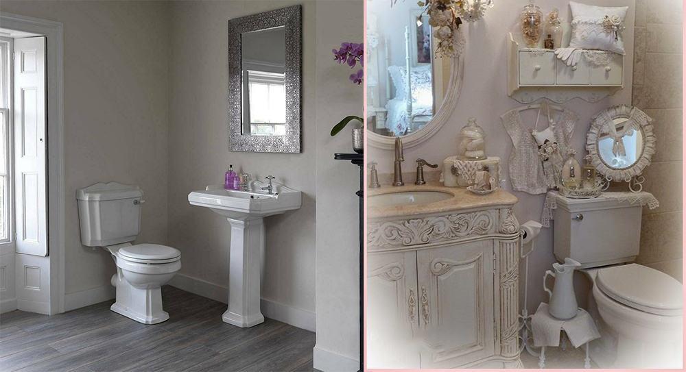 Bathroom decor ideas dreamy shabby chic bathroom for your for Commode style shabby chic