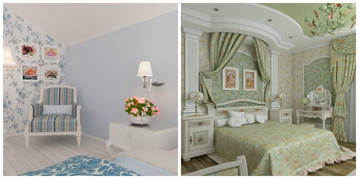 Provence bedroom, top trends and design ideas for Provence style bedroom