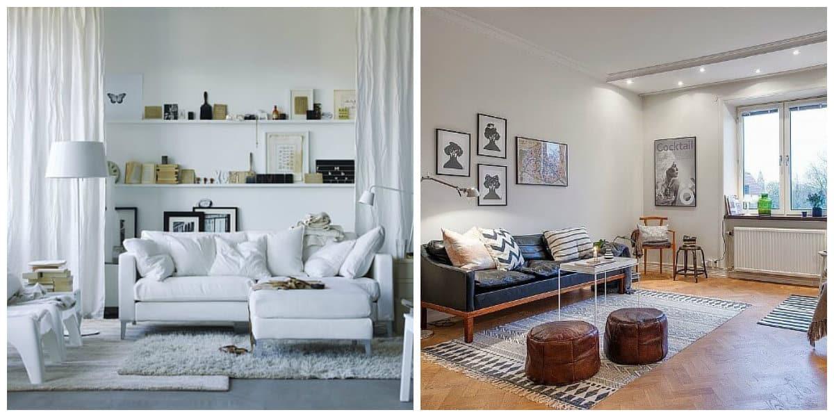 Scandinavian apartment design, top features and tips for Scandinavian interior