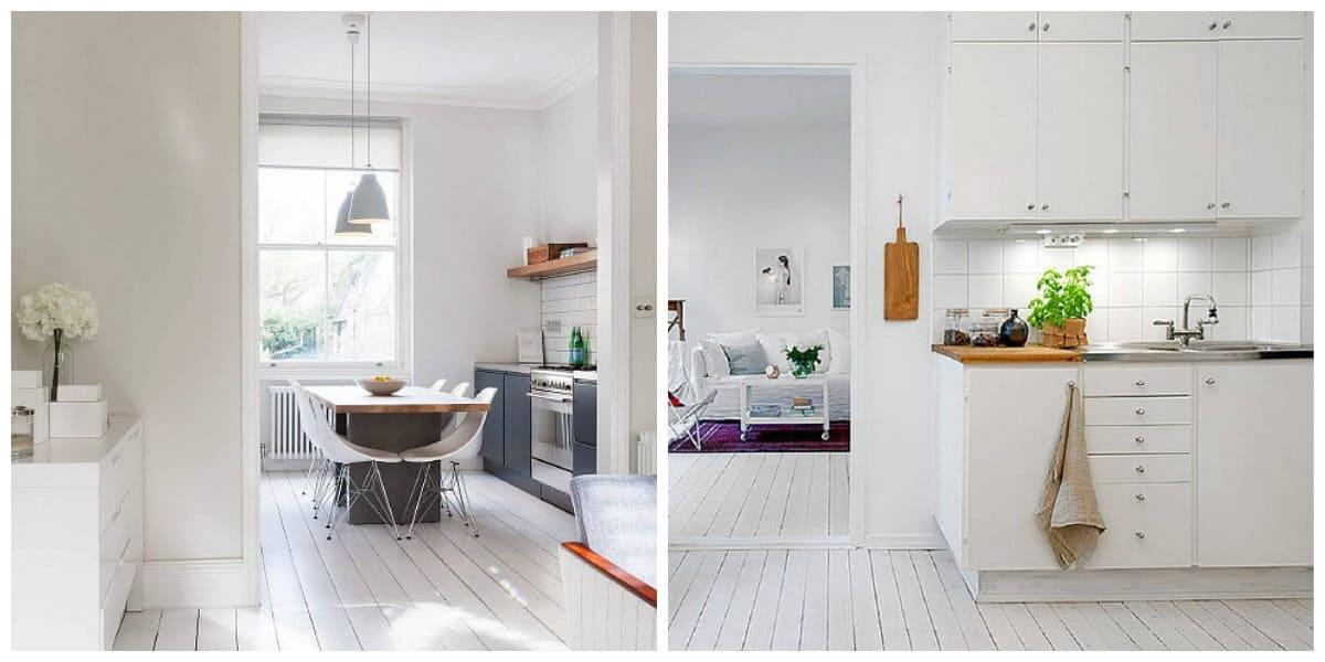 Scandinavian apartment design, lighting ideas in Scandinavian apartment design