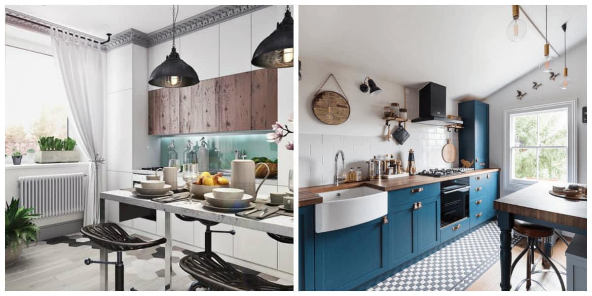 Scandinavian home design, Scandinavian style kitchen design