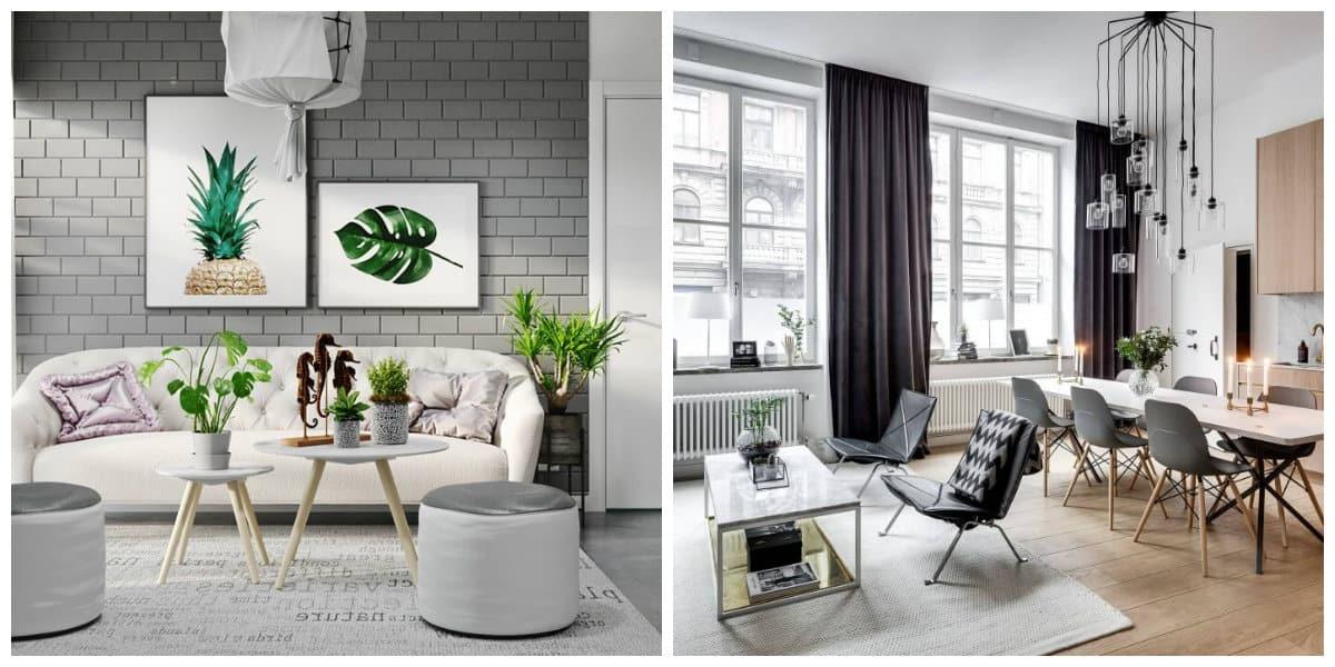 Scandinavian home design, design ideas for Scandinavian home interior