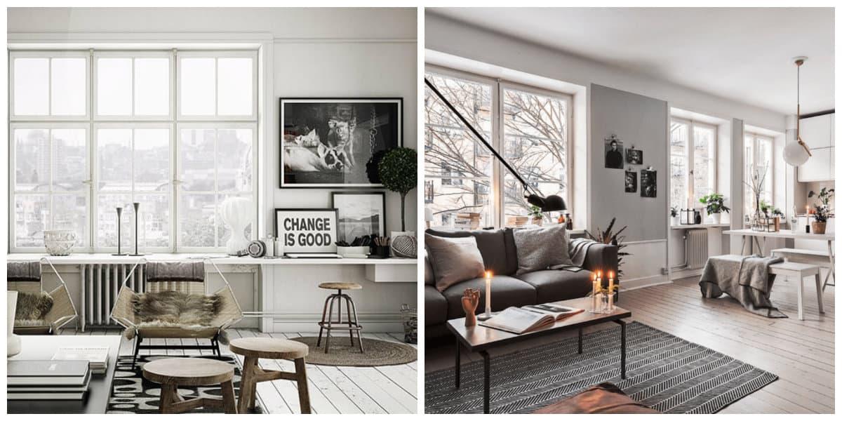 Scandinavian home design, features of Scandinavian home design