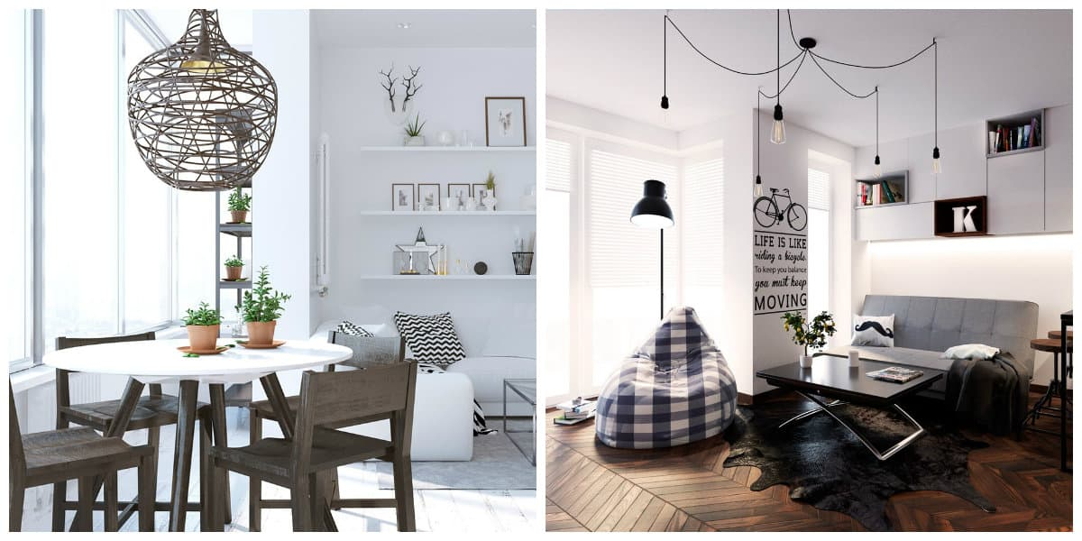 Scandinavian home design, lighting ideas in Scandinavian home design