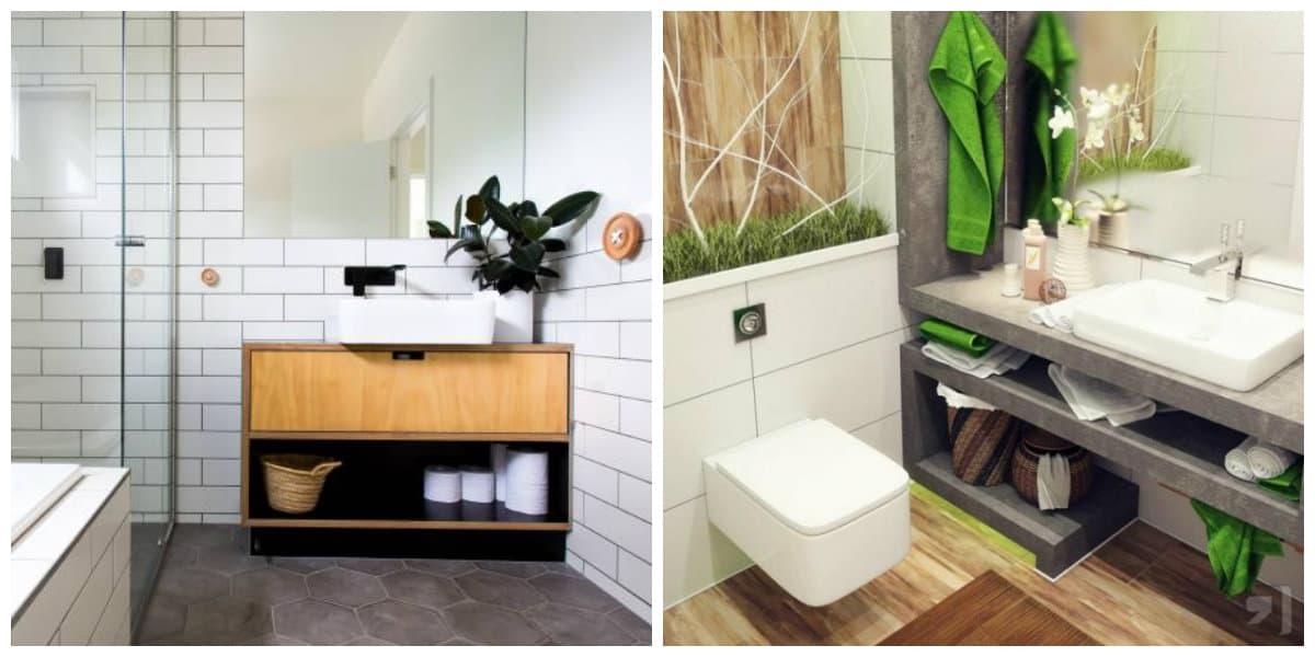 Scnadinavian interior design, bathroom in Scandinavian style
