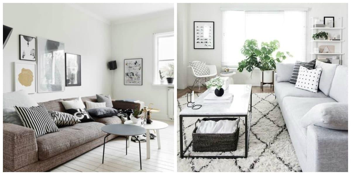 Scandinavian interior design, features for Scandinavian interior design