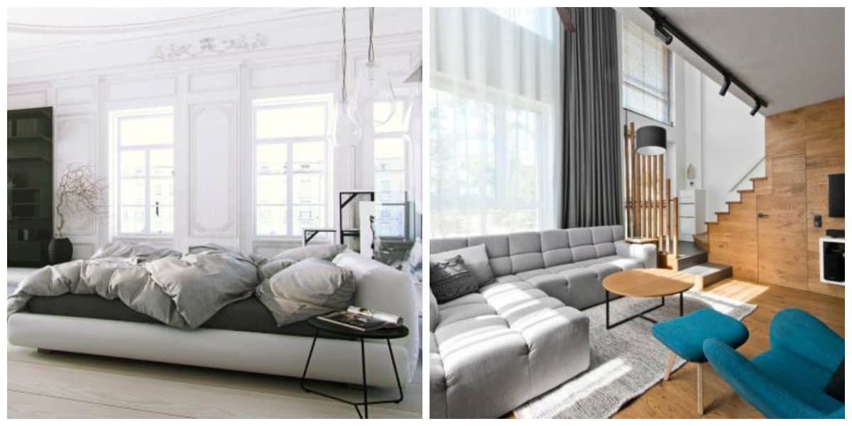 Scandinavian interior design, furniture in Scandinavian interior design