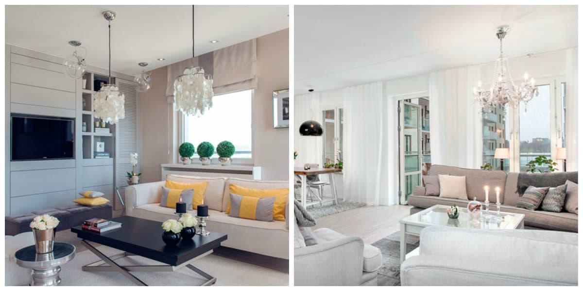 Scandinavian style chandeliers, trendy Scandinavian style lighting ideas