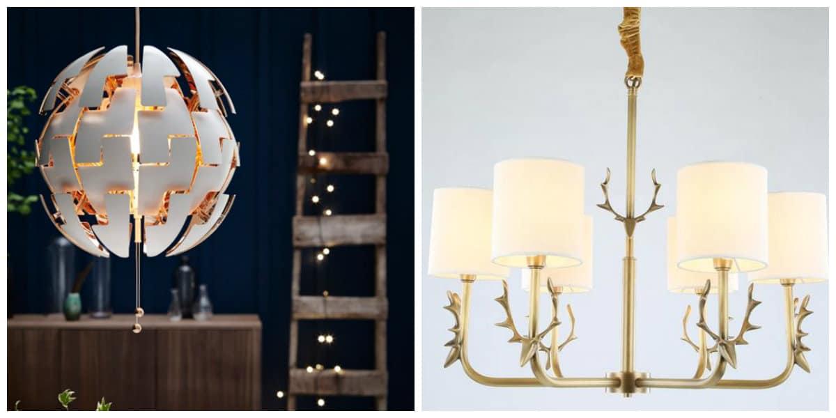 Scandinavian style chandeliers, stylish Scandinavian style chandeliers