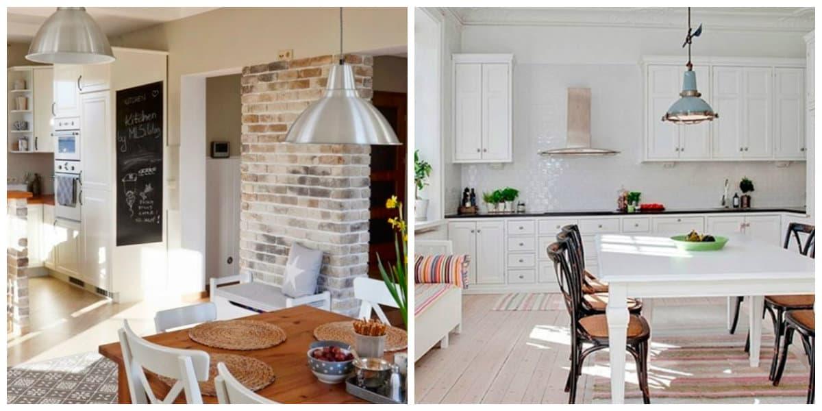 Scandinavian style chandeliers, kitchen Scandinavian chandeliers