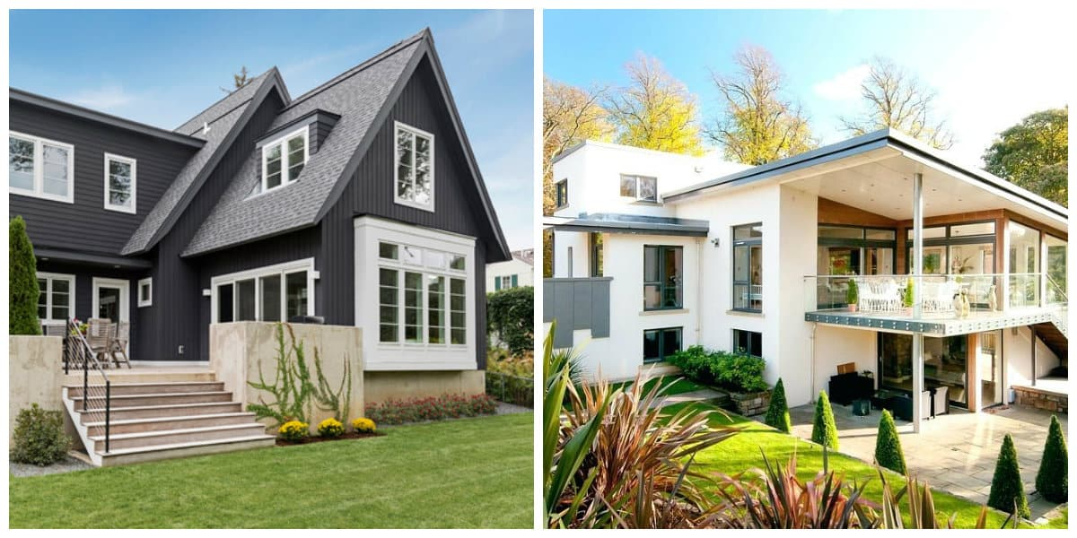 scandinavian style house, exterior design of scandinavian style house