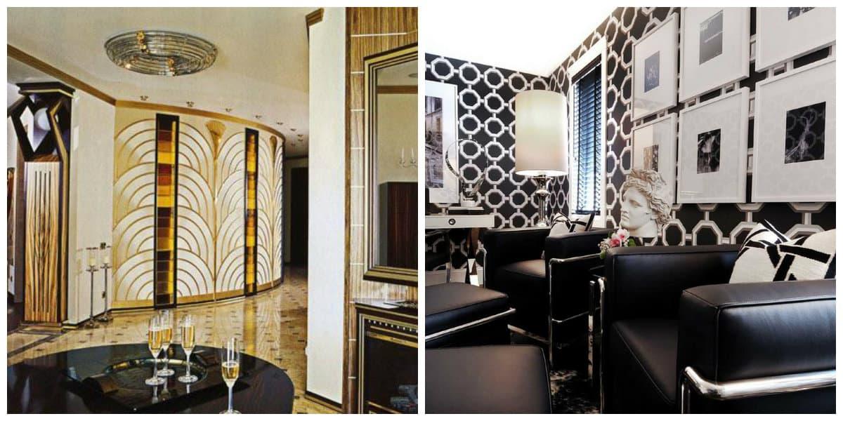 art deco interior style, symbolism in art deco interior style