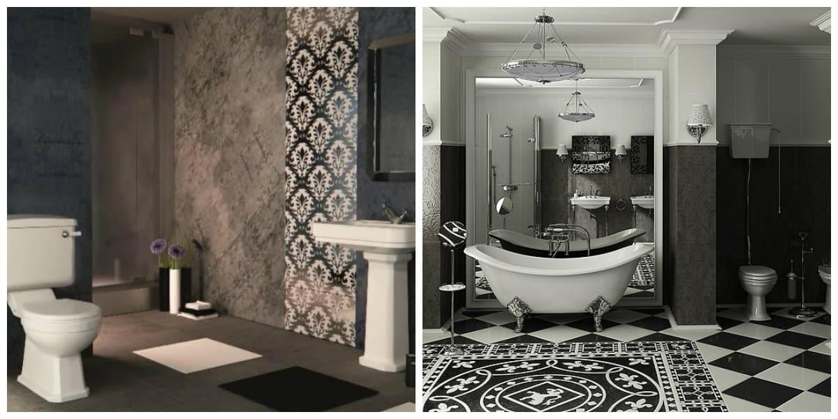 art deco interior style, tiles in art deco interior style