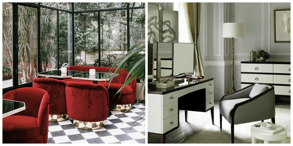 art deco style furniture, principles in art deco style furniture design