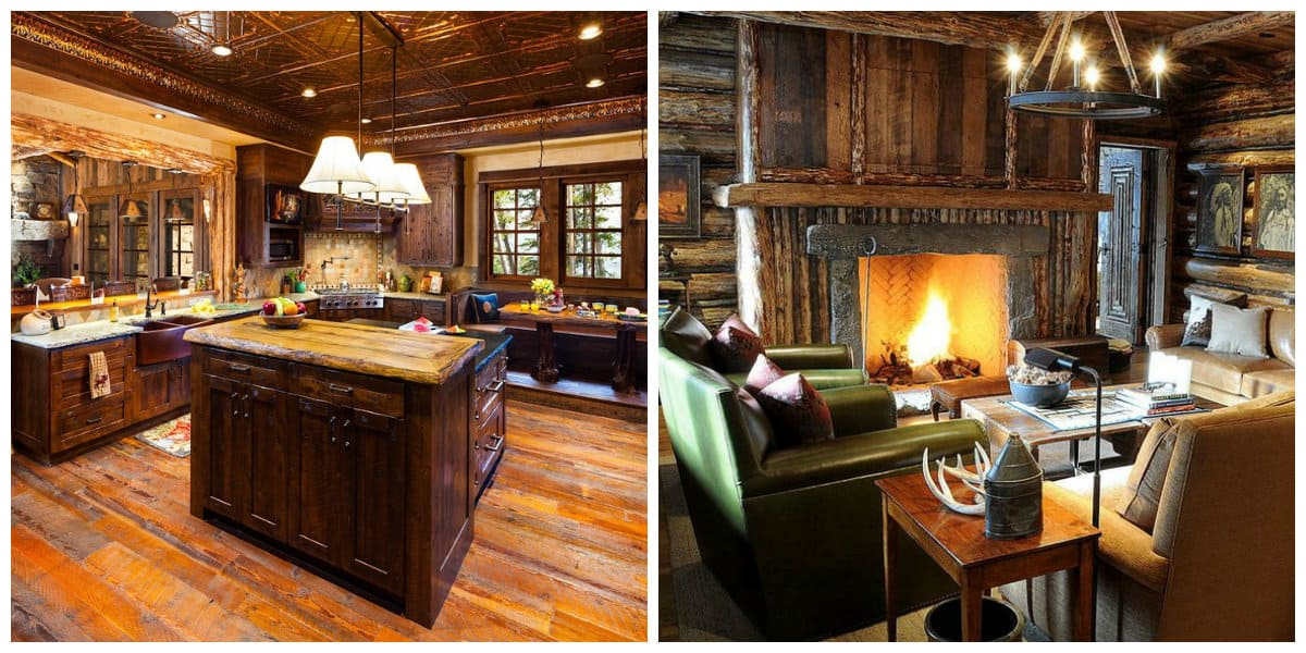 country style furniture, chalet style furniture in interior design