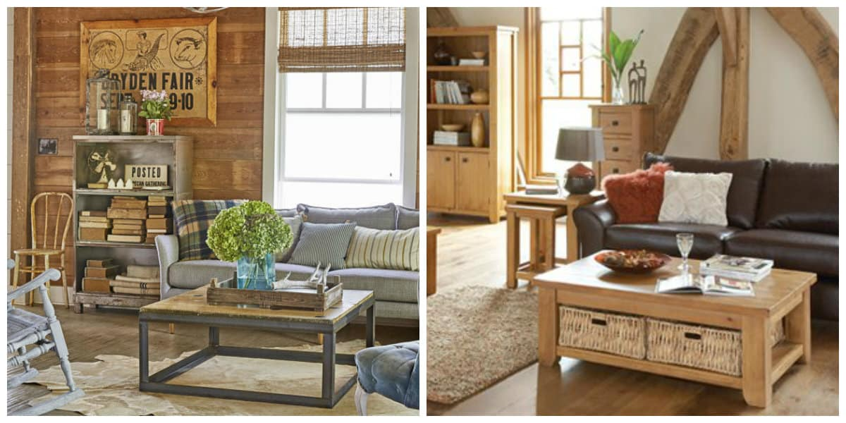 country style furniture, common features of country style interior