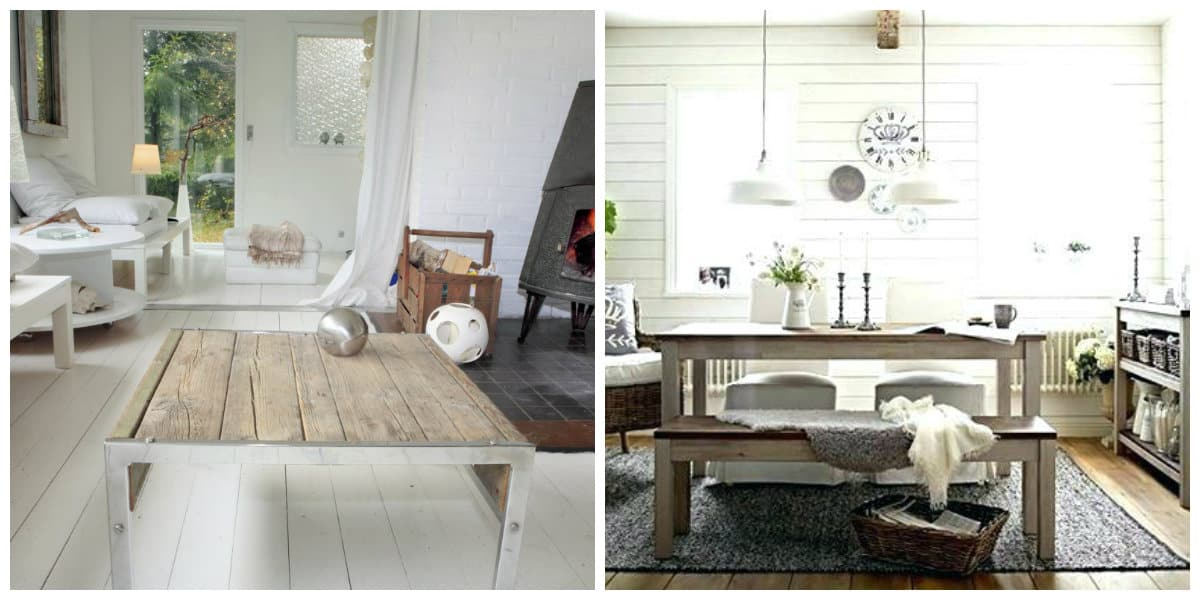 country style furniture, Scandinavian rustic furniture