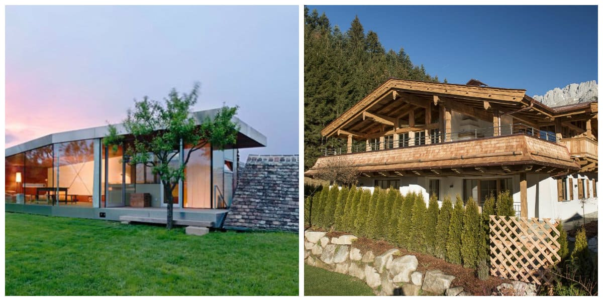 country style house, Austrian style country house design
