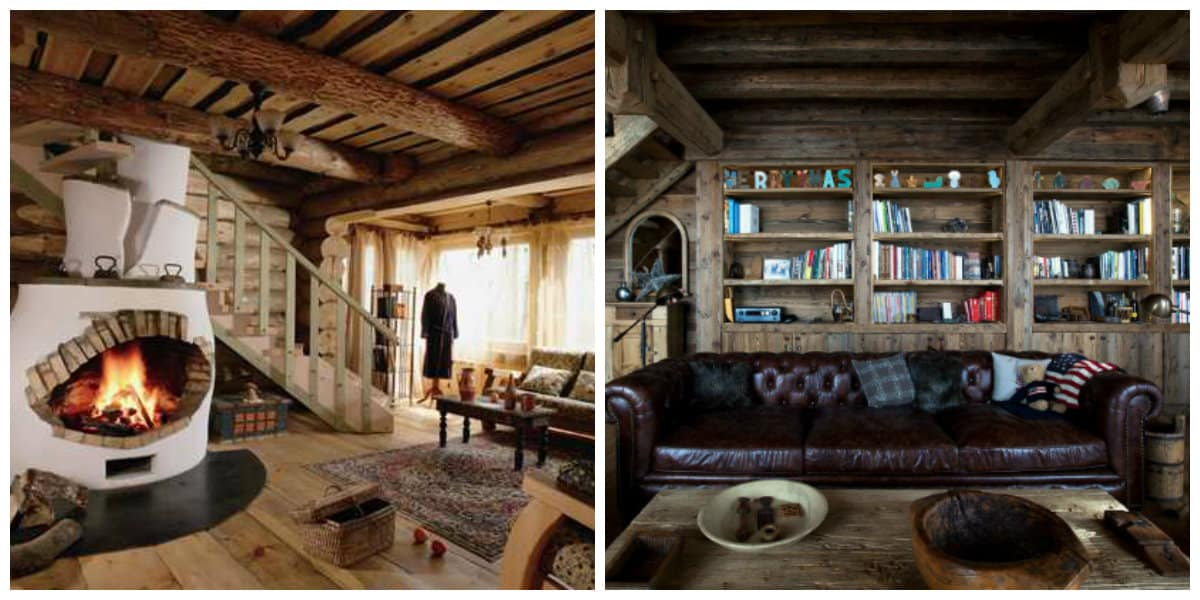 country style interior design, Alpine style country interior design, Chalet style country interior design