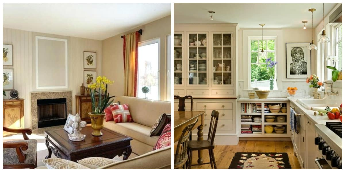 country style interior design, country interior design in American style