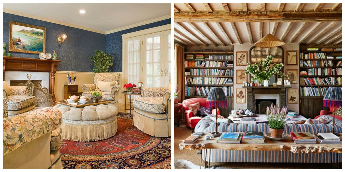 country style interior design, English style country interior design